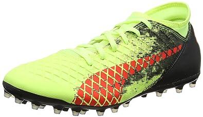 new product d868d a1c9b Puma Men s Future 18.4 Mg Yellow Football Boots-12 UK India (47 EU