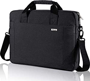 Voova 17 17.3 Inch Laptop Bag Briefcase, Expandable Multi-function Shoulder Messenger Bag, Waterproof Computer Handbag Carrying Case with Organizer Pocket for Men Women, Business Travel College School