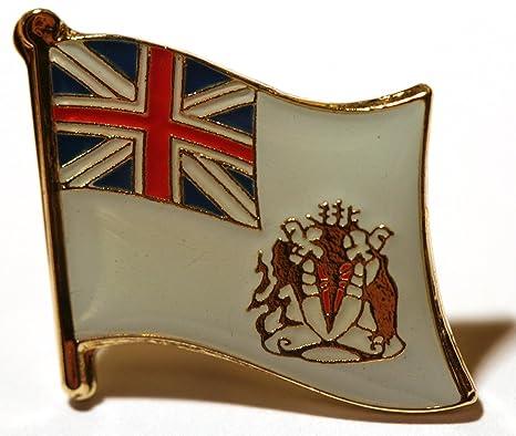 British Antarctic Territory Flag Lapel Pin Badge