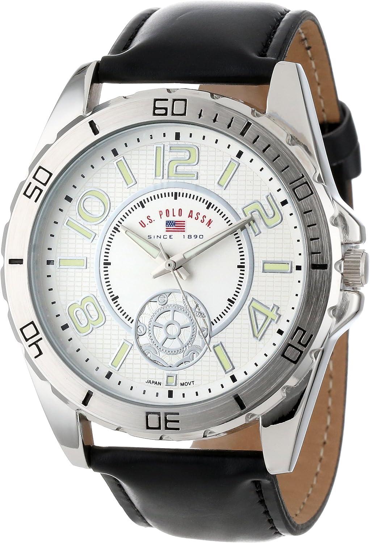 U.S.POLO ASSN. US5159 - Reloj de Pulsera Hombre, Color Negro ...