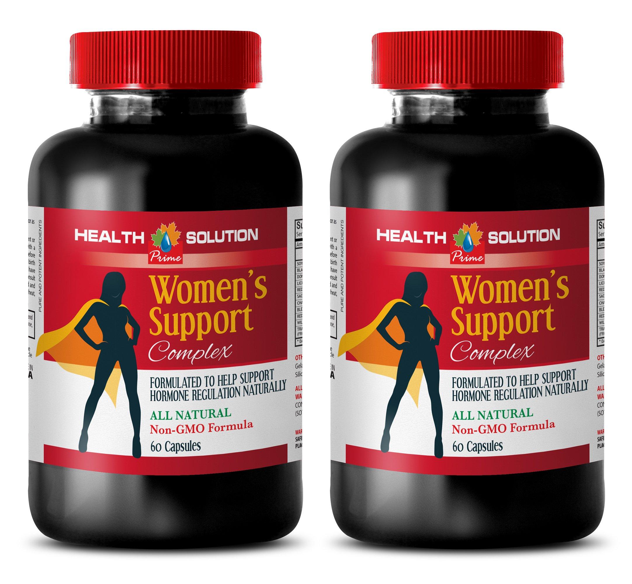 enhancement for women sex - WOMEN'S SUPPORT COMPLEX NATURAL - female libido pills - 2 Bottle (120 Capsules)