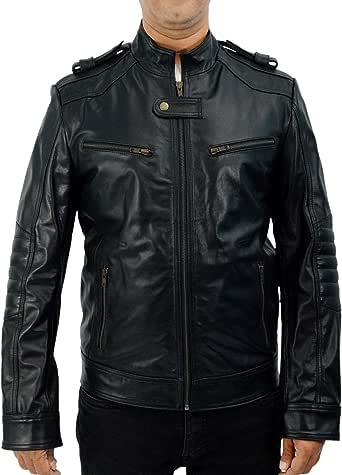F&H Men's Genuine Leather Breaking Bad Aaron Paul Jesse