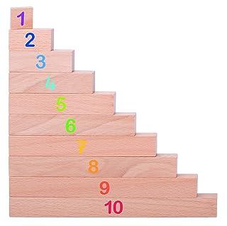 Goki 58535–Bastoncini de calculo, 36Pezzi, Legno, + 4anni 36Pezzi + 4anni