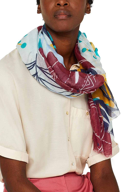 ESPRIT Schal mit tropischem Print