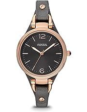Fossil Armbanduhr, ES3077« grau, Größe