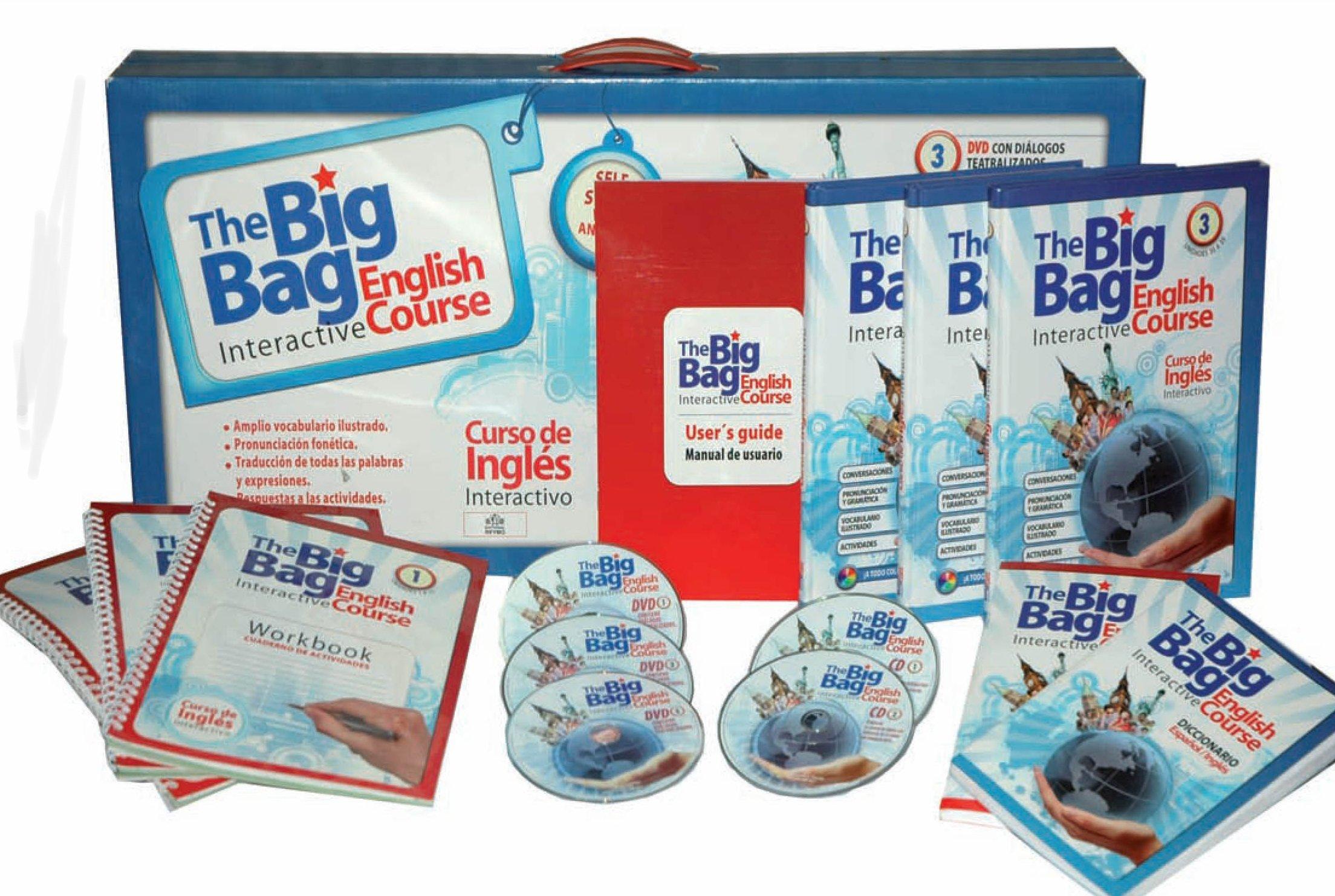 GRAN CURSO DE INGLES BIG BAG (+ESTUCHE). P. USD: REYMO ...