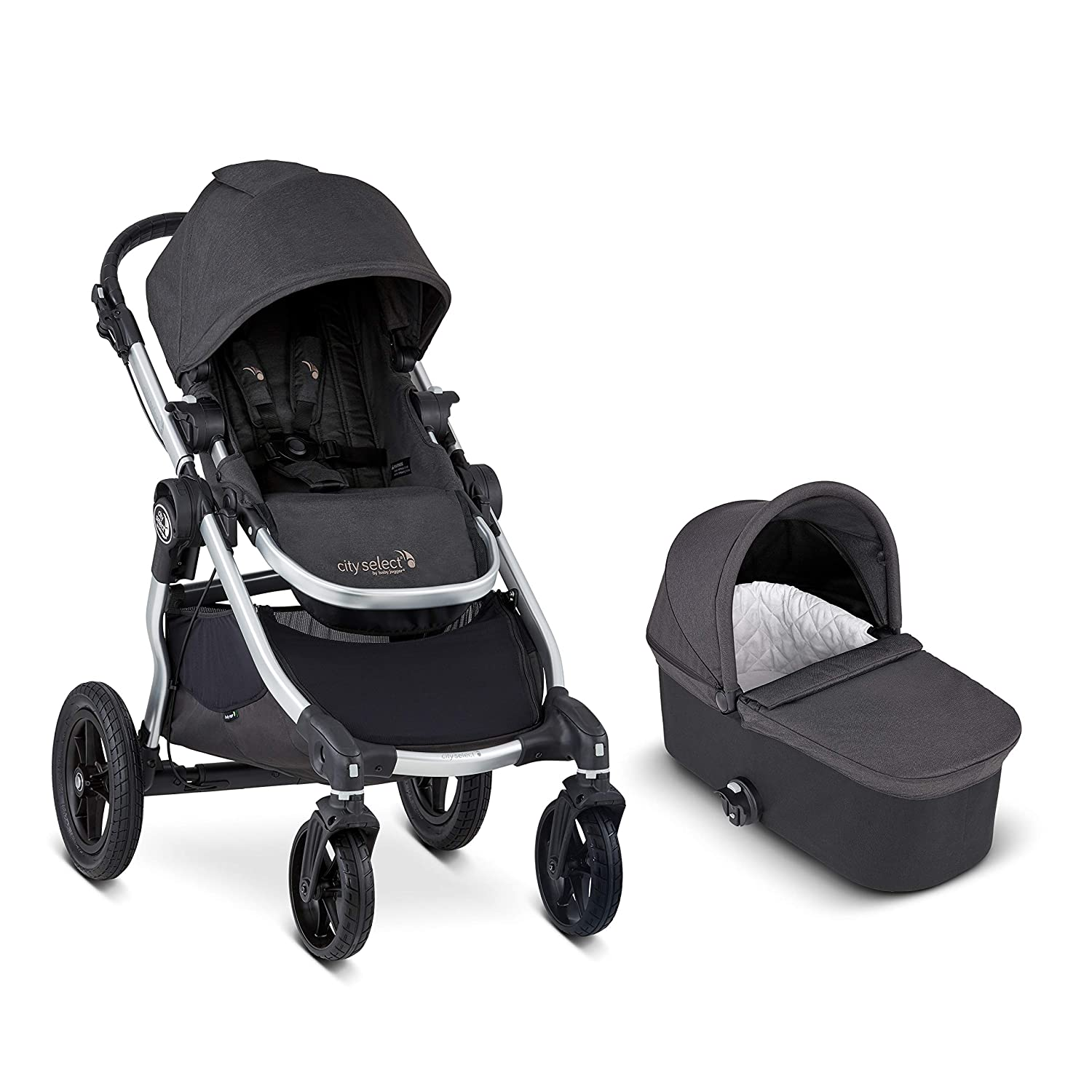 Baby Jogger City Select Stroller and Deluxe Pram