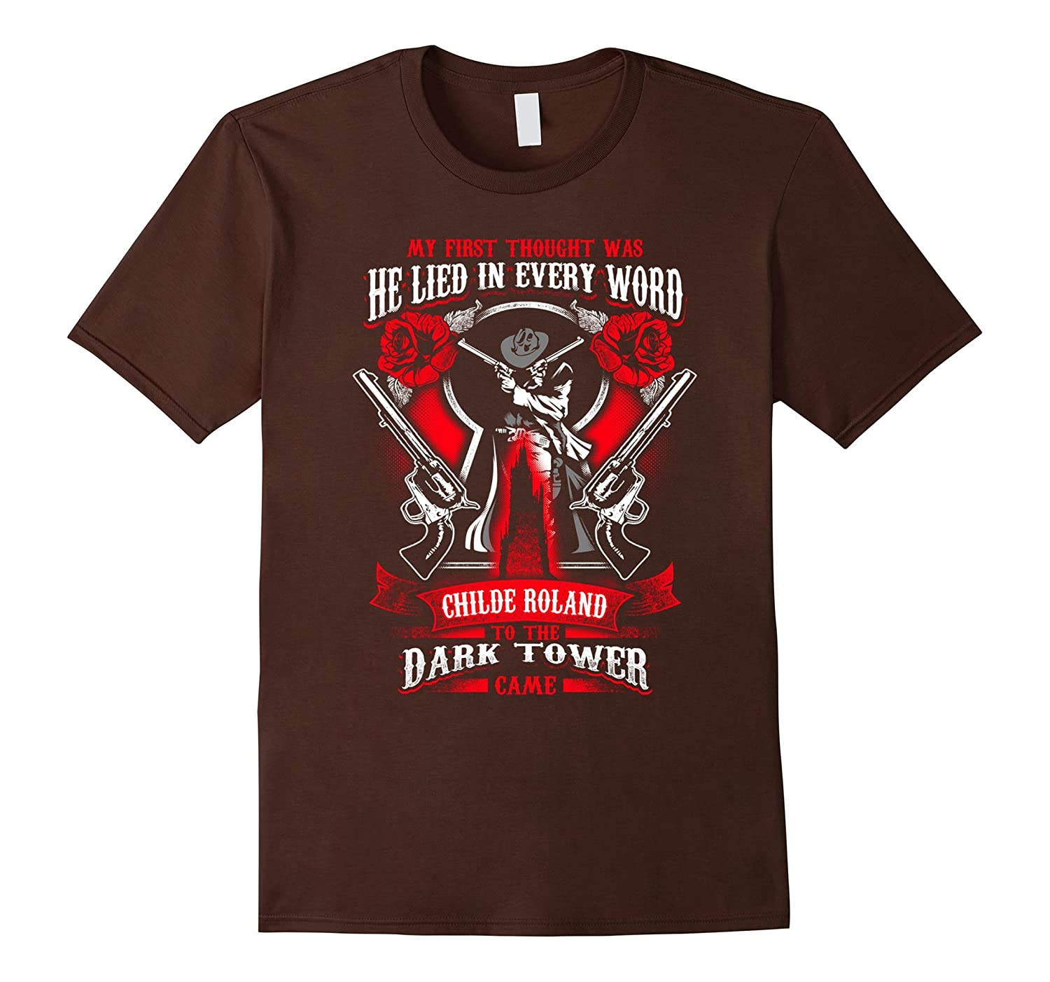 Stephen King T Shirts - Dark Tower Womens Mens Shirt-RT