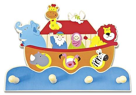 Uljö ° - Perchero de Madera para niños, diseño de Arca de ...