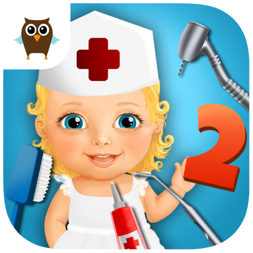 Sweet Baby Girl Kids Hospital 2   Allergy Emergency  Broken Leg  Dentist Office And Ear Doctor