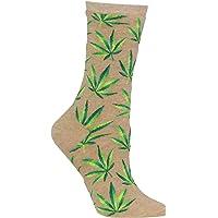 Hot Sox womens Conversation Starter Novelty Casual Crew Socks Casual Sock