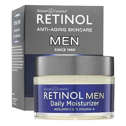Crema Humectante Diaria para Hombres de Retinol– La Crema Humectante Original de Retinol Especialmente Hecha