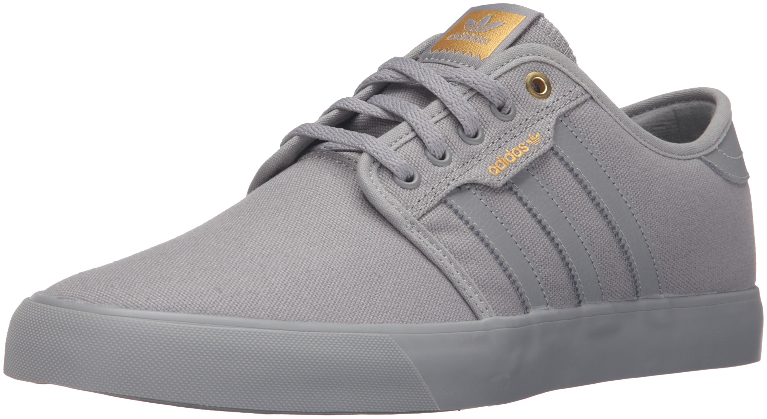 new photos b1957 55bd0 Galleon - Adidas Originals Men s Seeley Skate Shoe,Ash  Grey White Black,11.5 M US