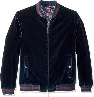 7ffd4bf00 Amazon.com: True Religion Men's Dip Dye Velvet Bomber Jacket: Clothing