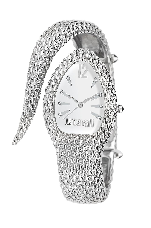 Just Cavalli Damen-Armbanduhr Analog Quarz Edelstahl R7253153645
