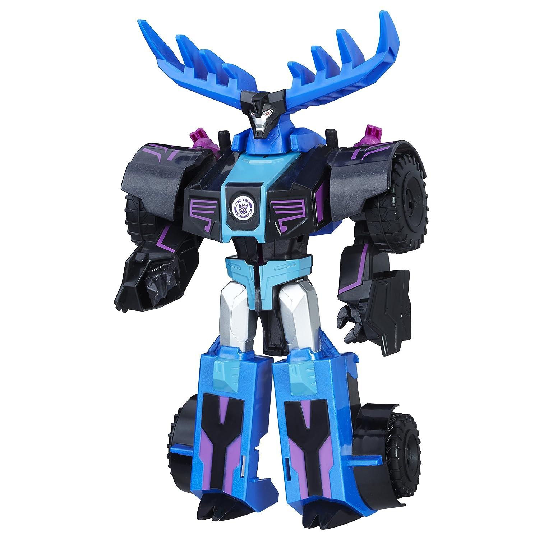 Transformers C0877EL2 Rid Combiner Force - Cambiador de 3 Pasos sísmico con Figura de Thunderhoof