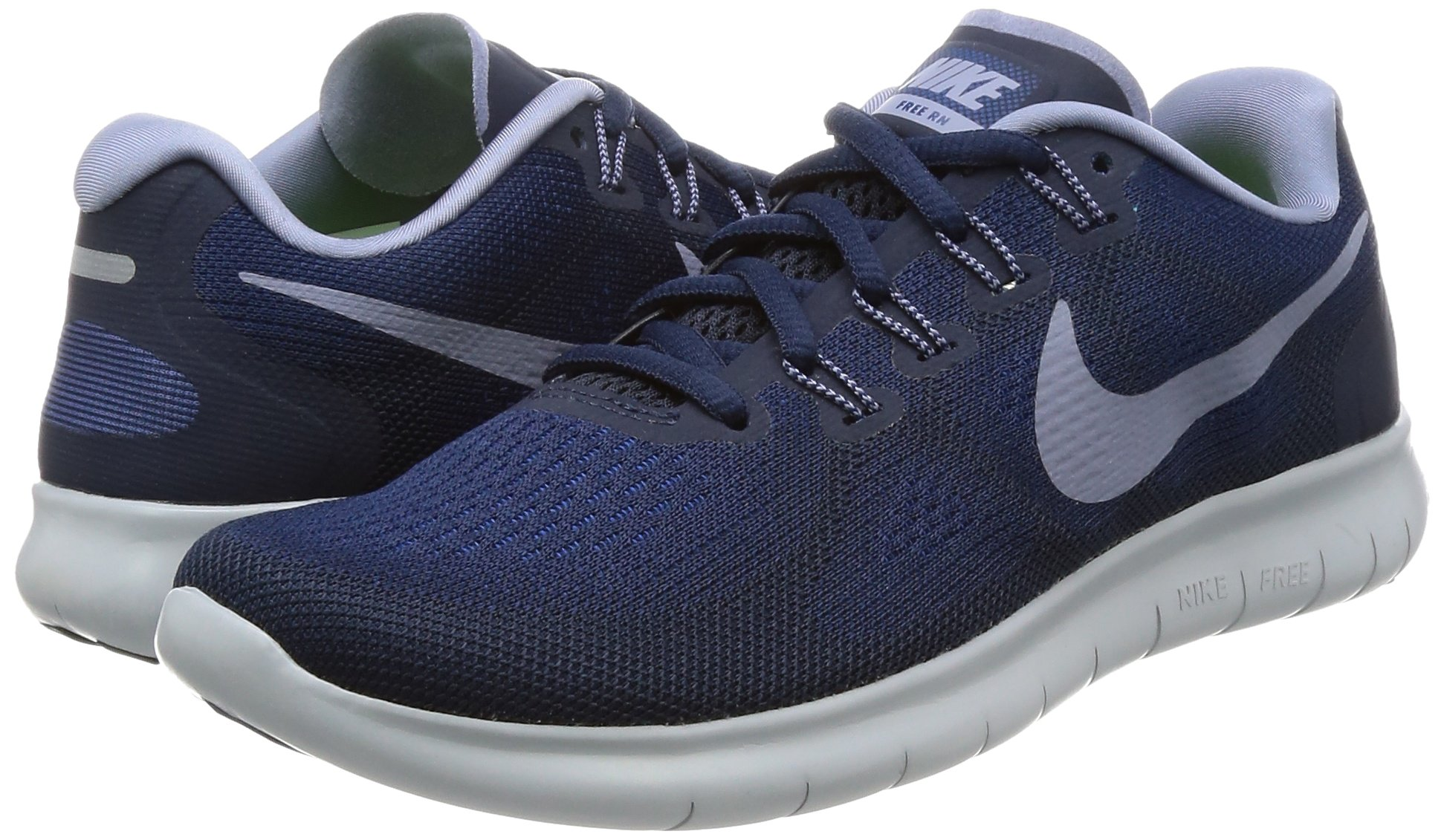 Nike Free RN 2017 Women's Running Shoes (6 M US, Binary Blue/Dark Sky Blue) by Nike (Image #5)