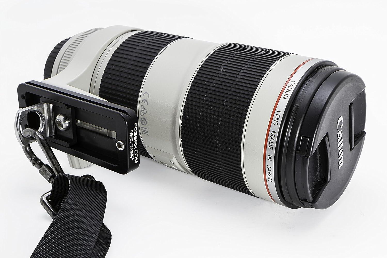 """Arca-Swiss Compatible Fusion Long Lens Plate - 5.25\"""" Length - Color Black 81cTXBIuczLSL1500_"""