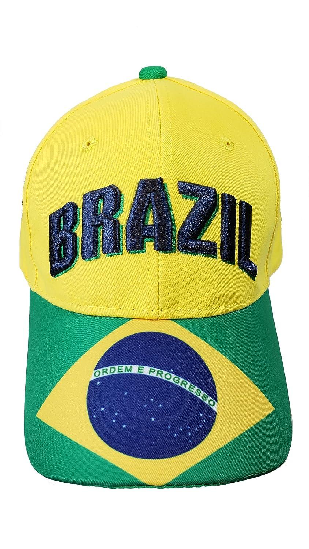 ブラジルキャップ帽子AnyスポーツSoccer World Cup大人メンズ01 – 4   B07DXBJT8Y