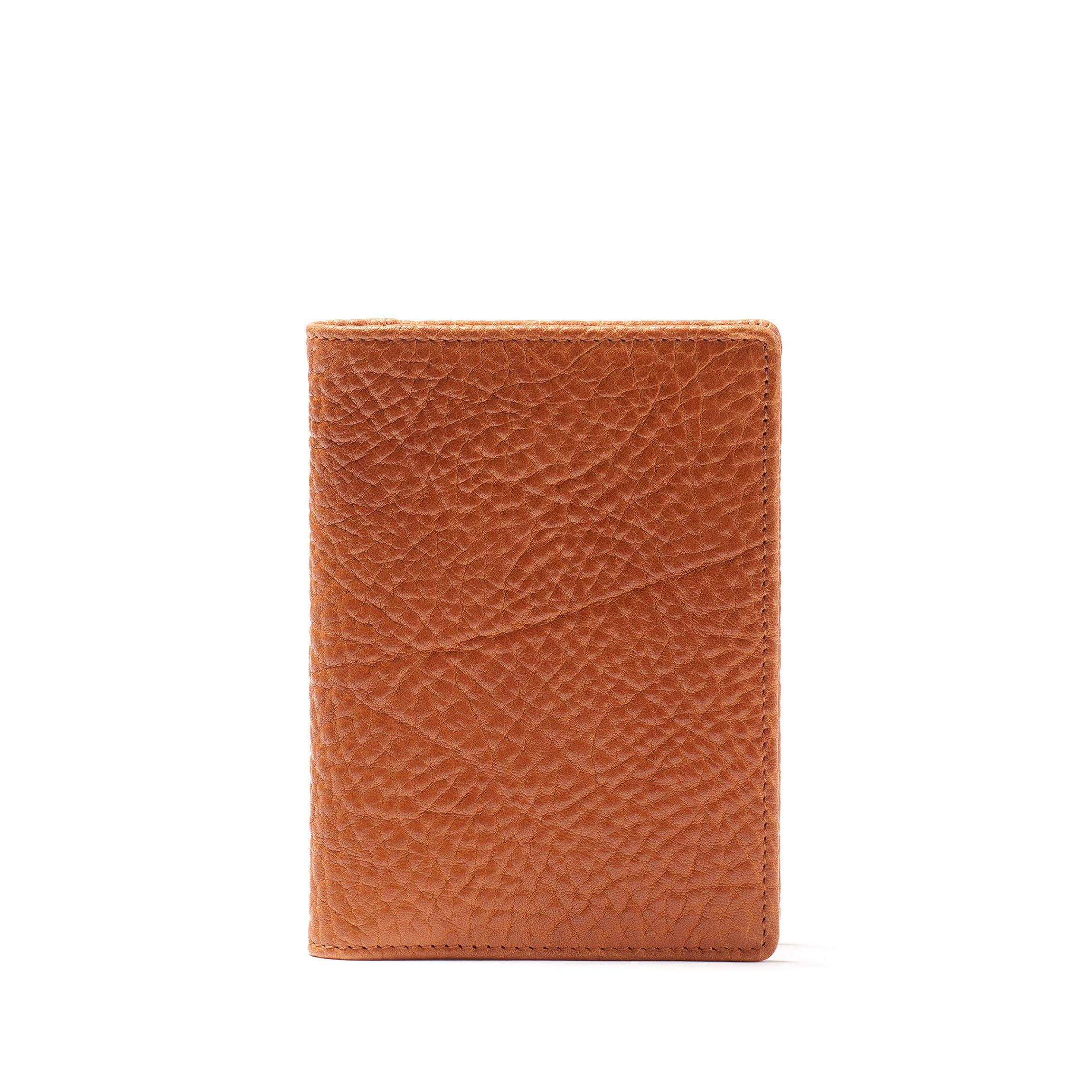 Deluxe Passport Cover - Italian Leather - Whiskey (brown)
