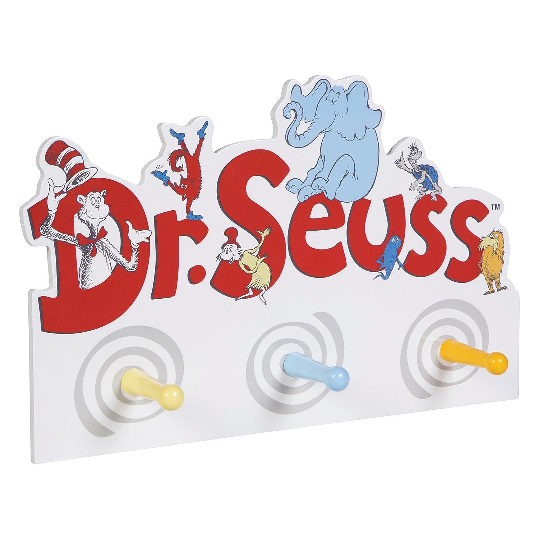 Trend Lab Dr. Seuss Friends Peg Hook, Multi 30428