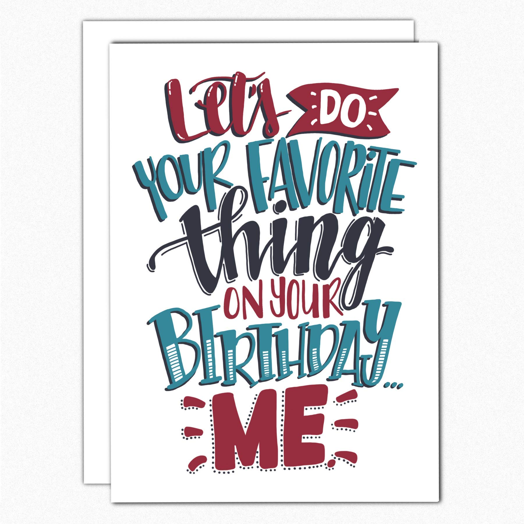 Birthday Card For Boyfriend 049 Lets Do Your Favorite Thing Naughty Cards Him