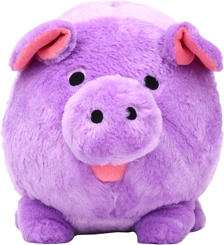 FAB Starpoint Jumbo Purple Plush Piggy Bank