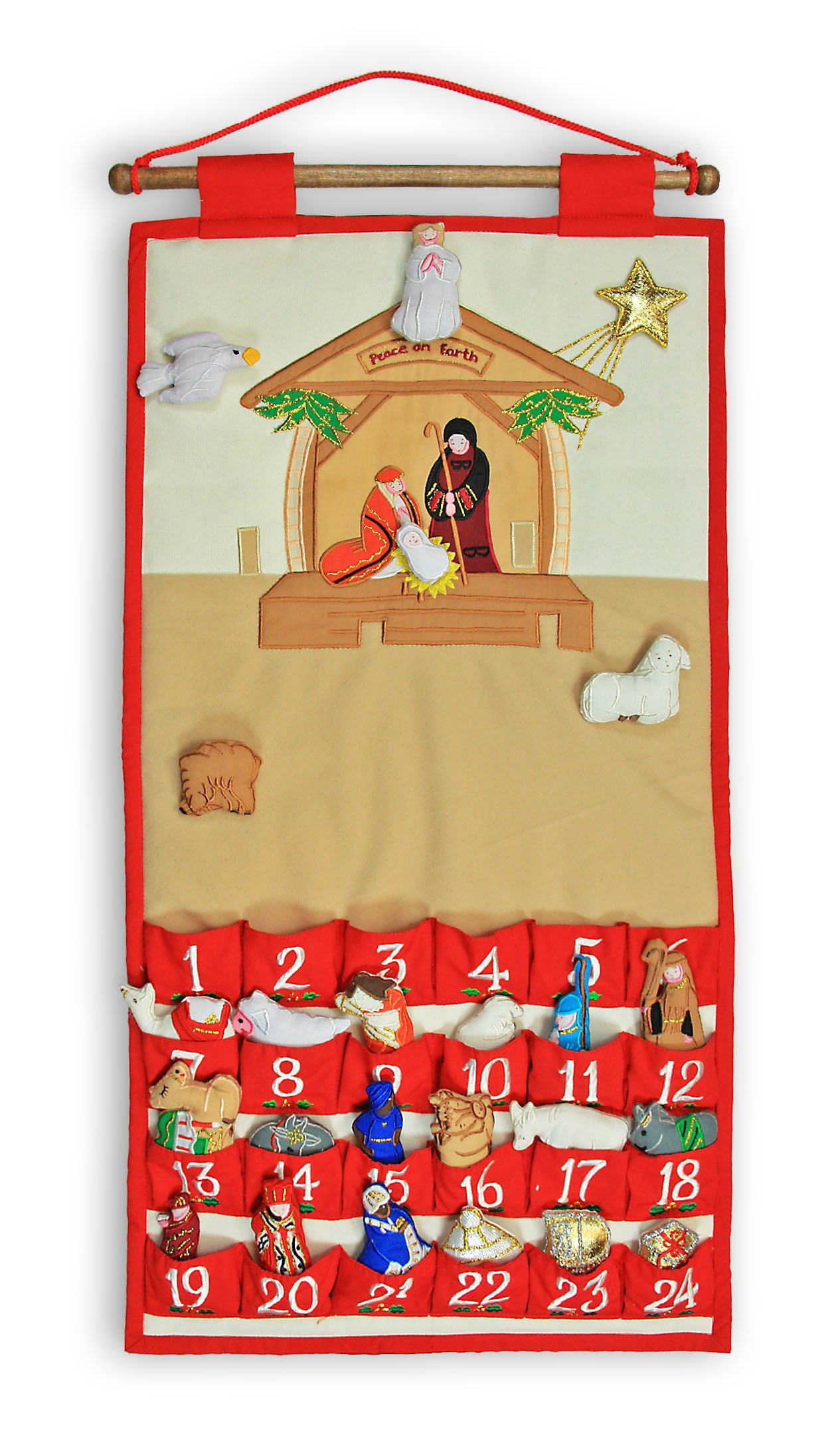 Nativity Advent Calendar by My Growing Season