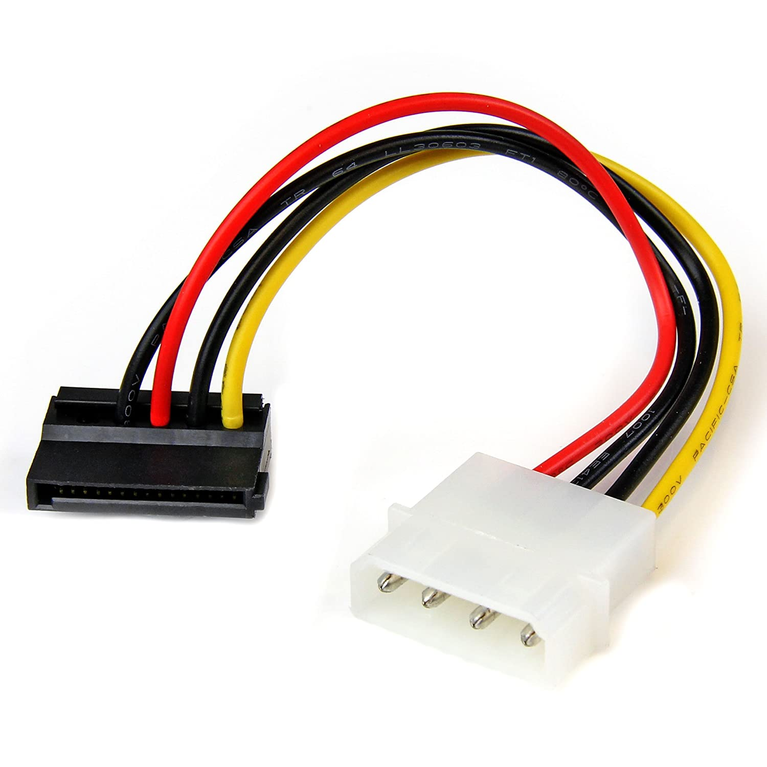 Startech 6In 4 Pin Molex to Sata Power Cable Adapter SATAPOWADAP STARTECH.COM V930429 Storage Cables