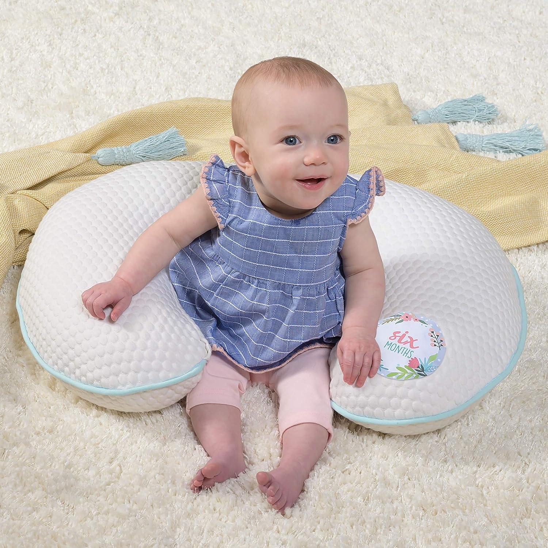 Cream Penny Dot Ivory Boppy Preferred Milestones Pillow Cover