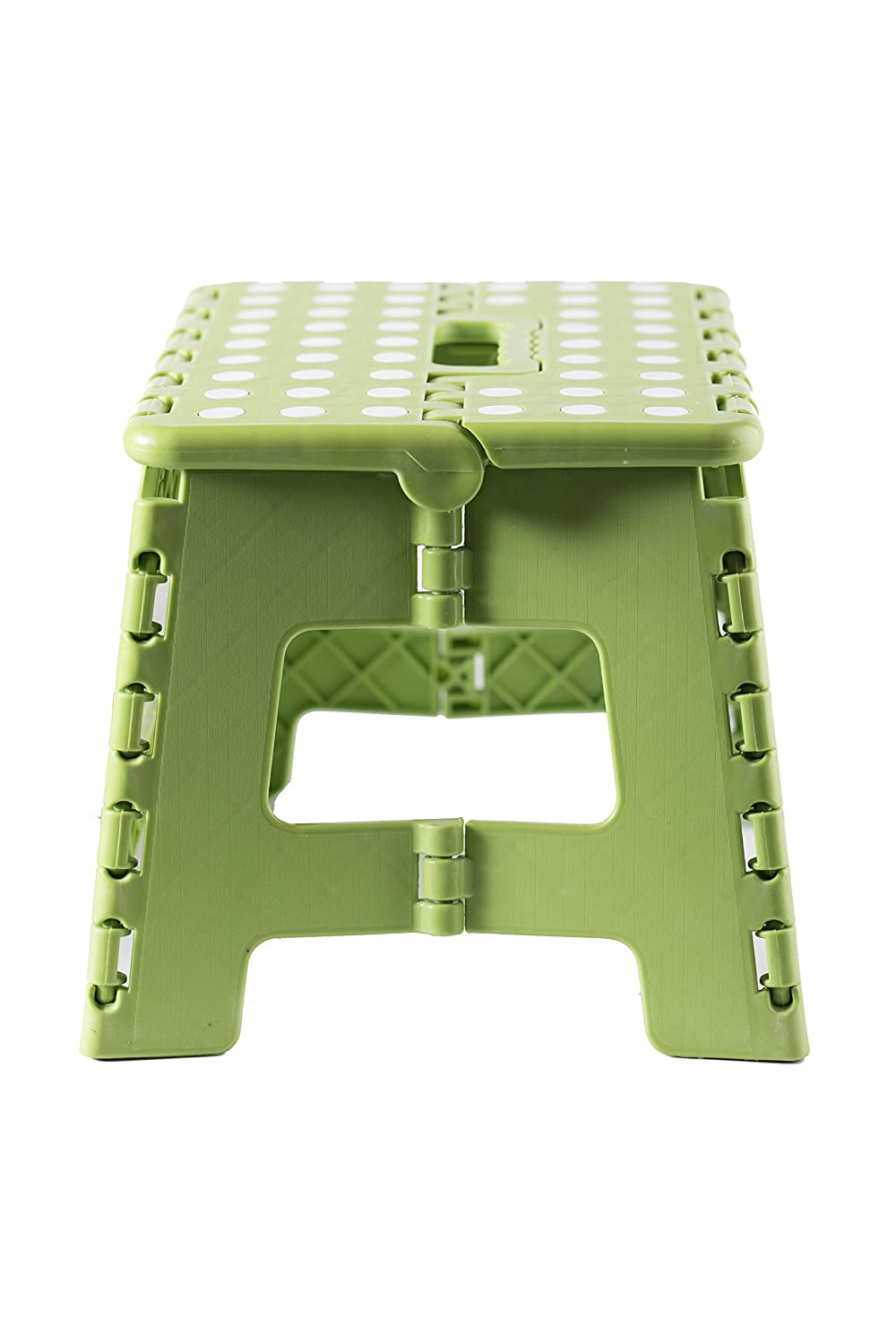 Green Viking Non-Slip Folding Step Stool for Kids and Adults