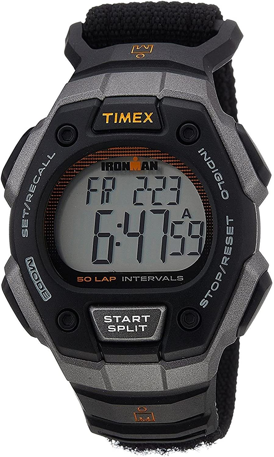 Timex Men s Ironman Digital Grey Dial – Tw5K95500 Black Watch