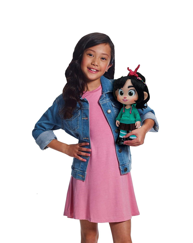 045557368869 Wreck It Ralph 2 Disneys Ralph Breaks The Internet Talking Vanellope Toy Bandai America Inc