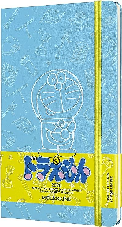con l/íneas formato grande Cuaderno blanco de Doraemon