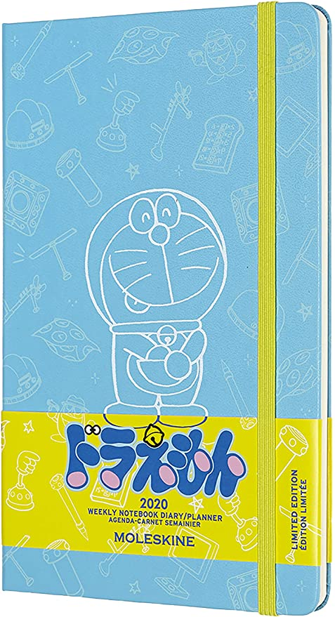 Moleskine Limited Edition Doraemon 12 Month 2020 Weekly Planner, Hard Cover, Large (5