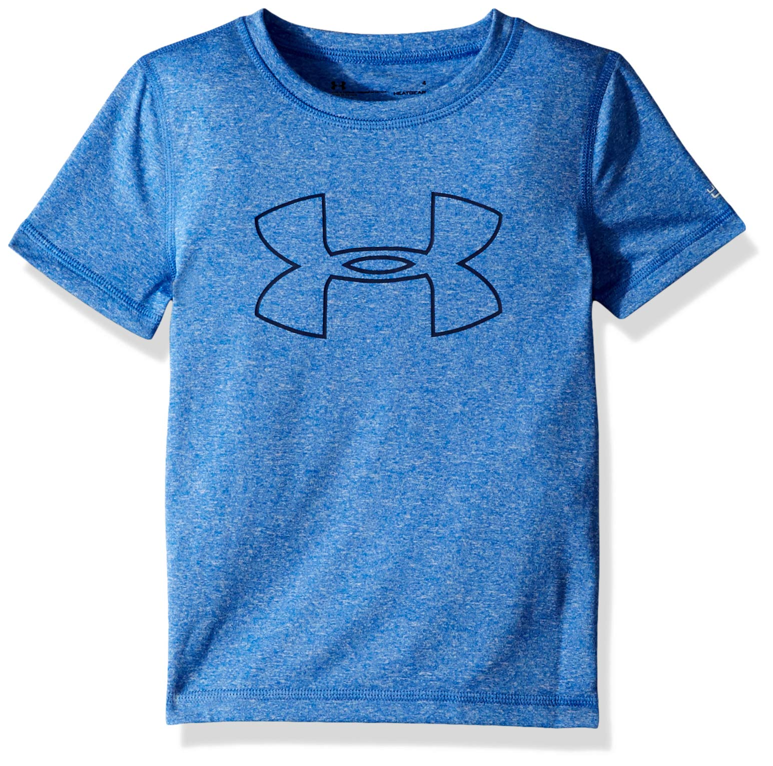 Under Armour Toddler Boys' Short Sleeve Rashguard, Ultra Blue-S19, 4T