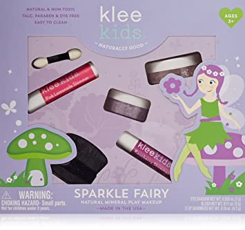 Luna Star Naturals Klee Kids Natural Mineral Makeup 4 Piece Kit, Sparkle  Fairy
