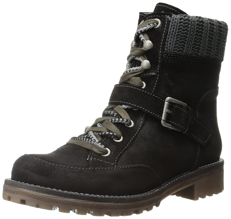 Bos. & Co. Women's Colony Boot B00VTCQZNY 41 EU/10-10.5 M US|Black/Grey Ana