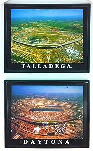 Framed Nascar Talladega and Daytona Speedway Aerial Prints Framed Wall Art