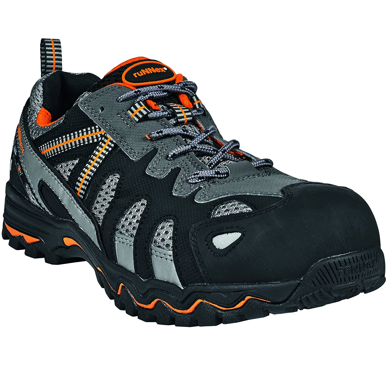 ruNNex Sandale de Sécurité 5120 Chaussures de 5120 Sécurité Norm Chaussures de S1 Noir/Orange/Gris 6e56996 - reprogrammed.space