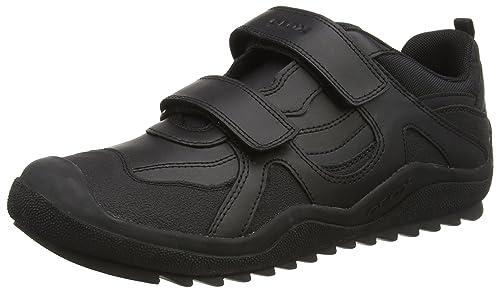 Geox J Artach Boy, Zapatillas para Niños, Negro (Black C9999), 32 EU