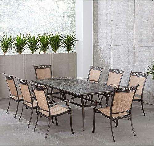 Hanover Fontana 9-Piece Dining Set