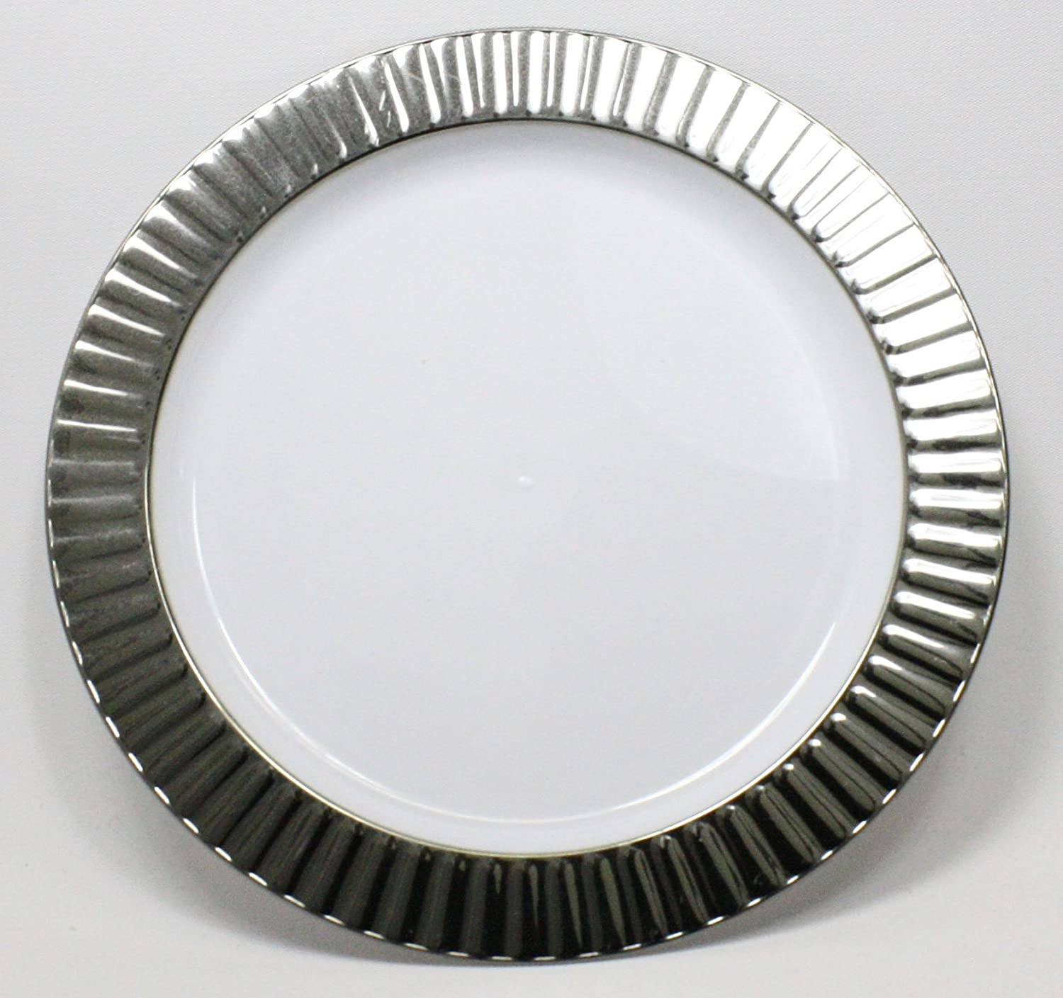 Amazon.com Celebration Dinner Plate \u2013 10.25\u201d (Case of 100) Kitchen \u0026 Dining : elegant plastic wedding plates - pezcame.com