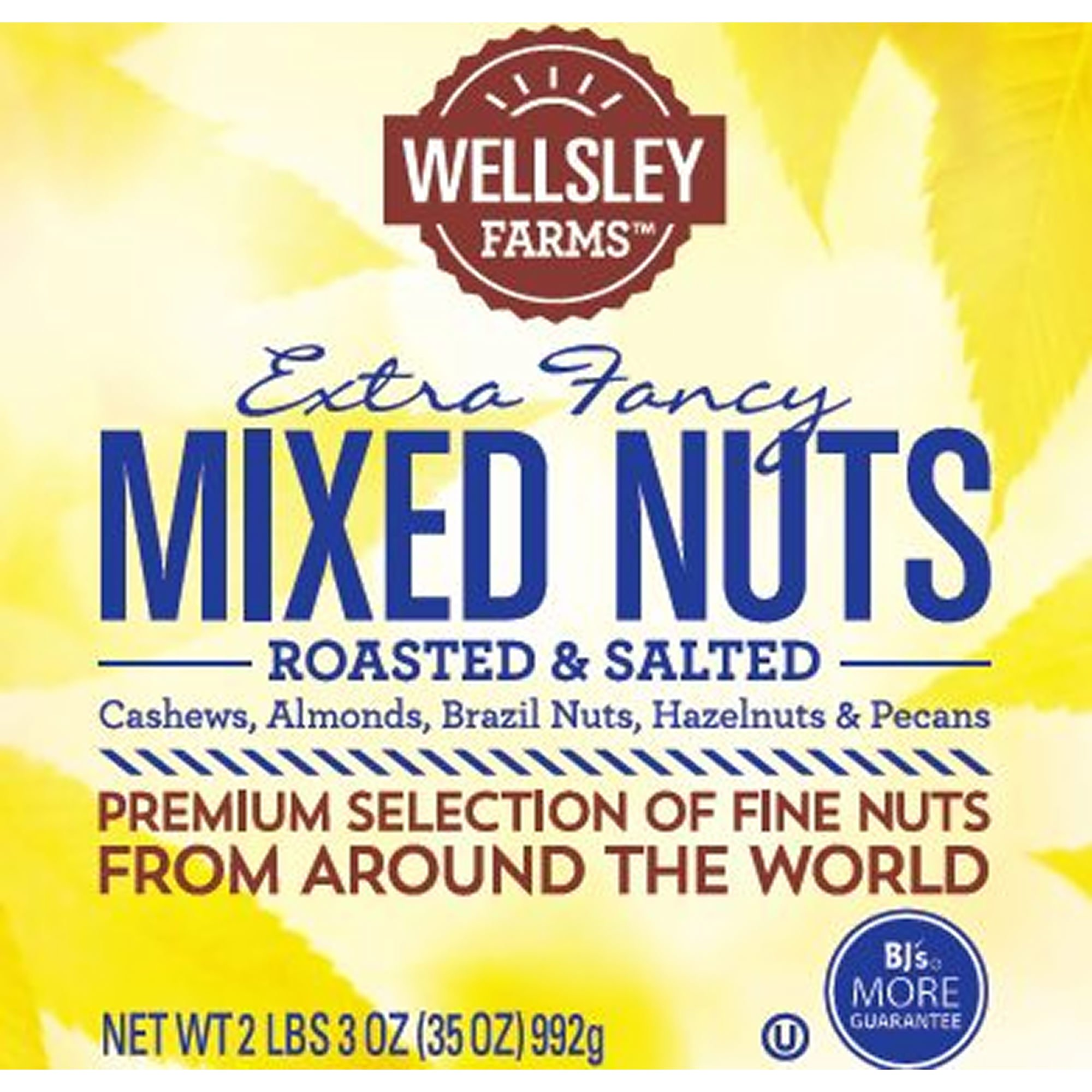 Wellsley Farms Fancy Mixed Nuts, 35 oz. (pack of 6)