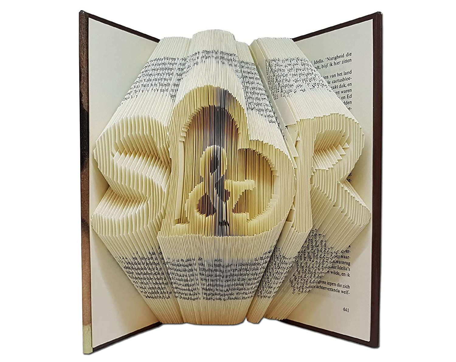 Unique Wedding gift for the couple by Folded Book Art