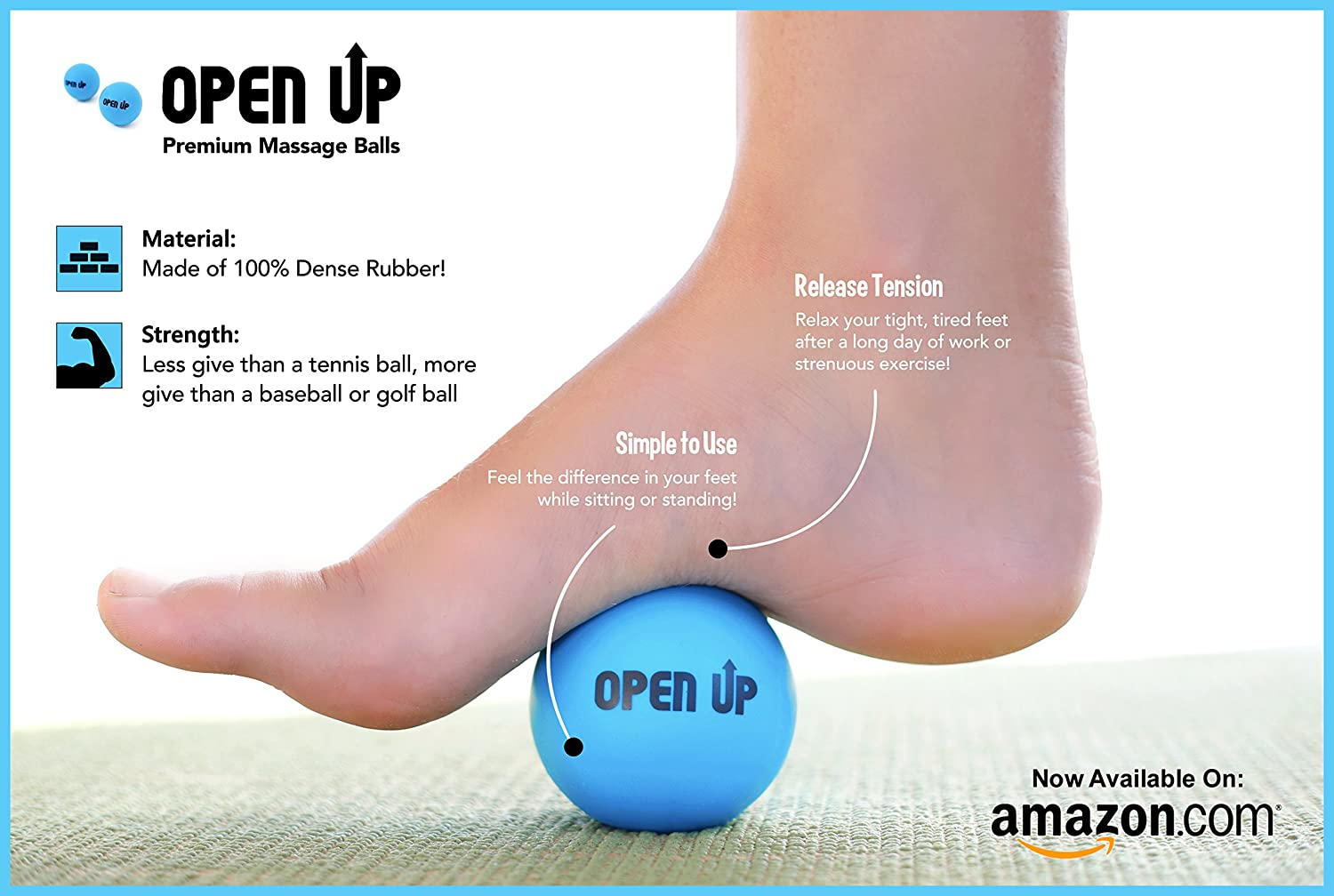 Amazon.com : Massage Balls: The Trigger Point Tool for Tight Muscles ...