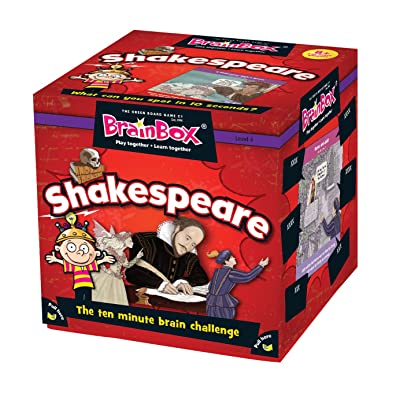 BrainBox - Shakespeare Game: Toys & Games