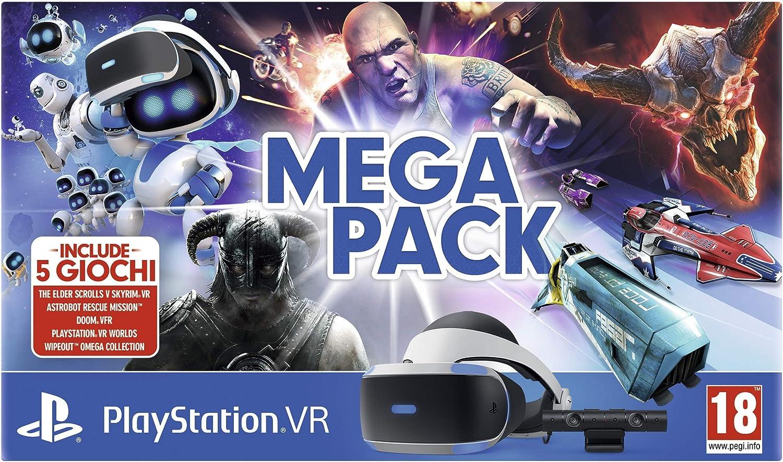 Sony PSVR Camera + Megapack [Importación italiana]: Amazon.es ...