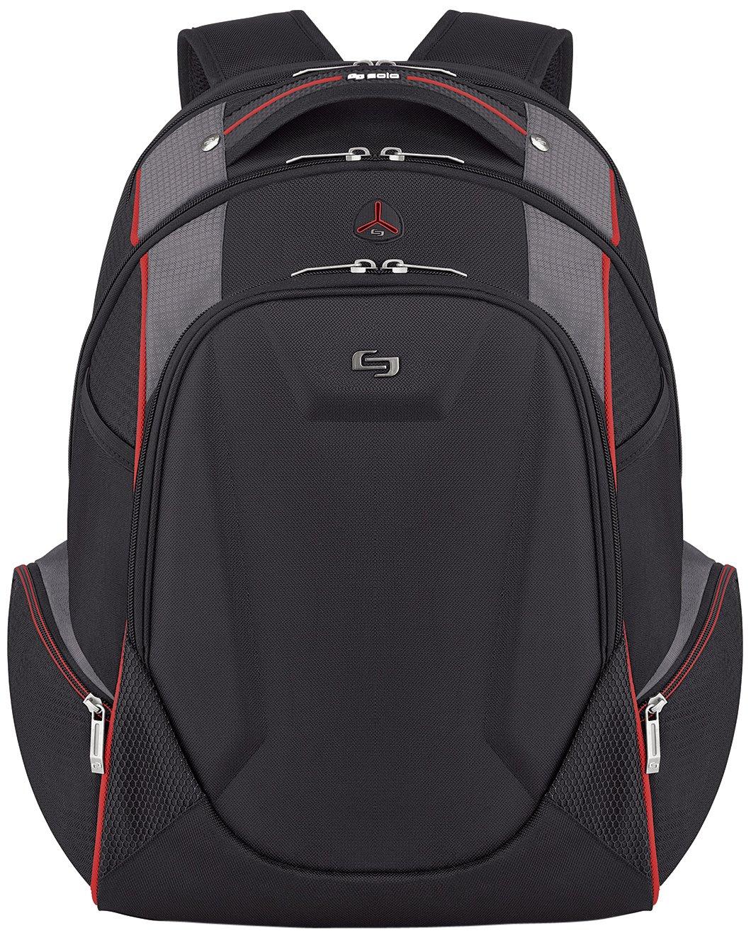 SOLOD ACV711-4 17.3-Inch Laptop Backpack, Black