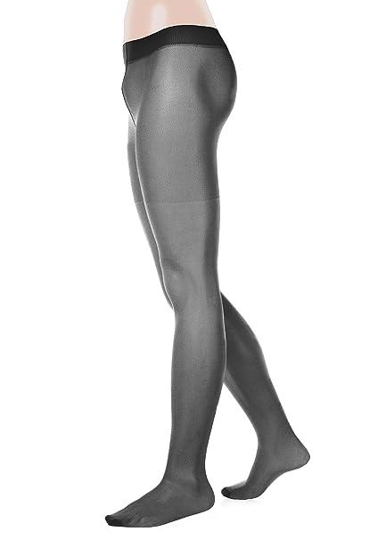 cd242eeff3000 GLAMORY Men's G-50422 20 DEN Sports Leggings - Black - Medium